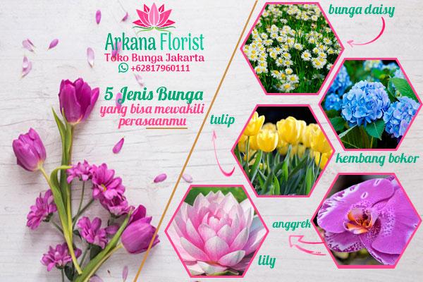 jenis-jenis bunga